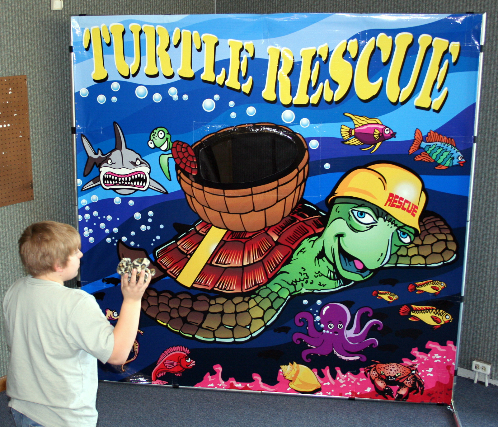 Turtle rescue game