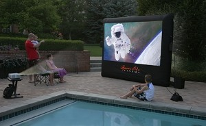 Inflatable 9ft Movie Screen