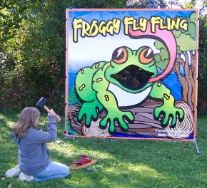 Froggy Fly Fling Game