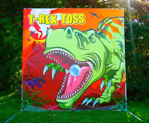 T-Rex Toss Game