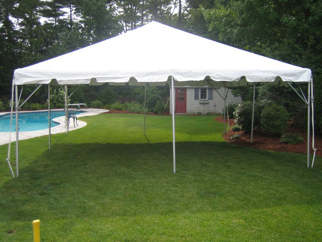 20x20 Frame Tent Package