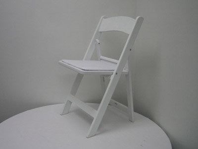 White Garden Chairs image