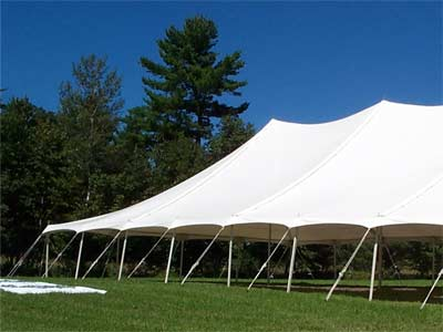 30 ft  x 60 ft  Pole Tent image