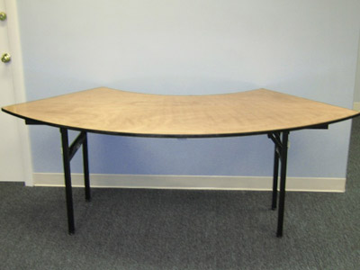 "72"" Serpentine Table image"