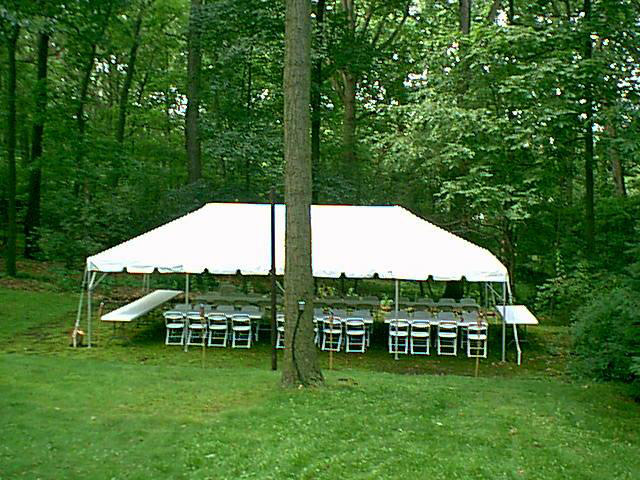 20x40 Frame Tent Package image