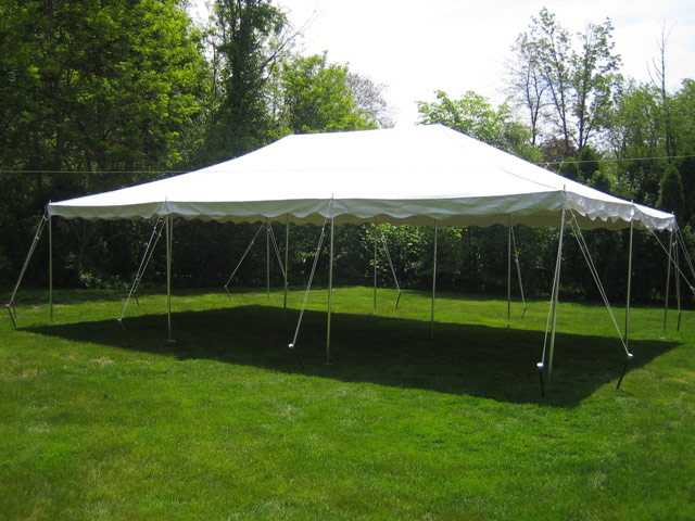 20x20 Pole Tent Package image & 20ft x 20ft Pole Tent Package | DifferRentals